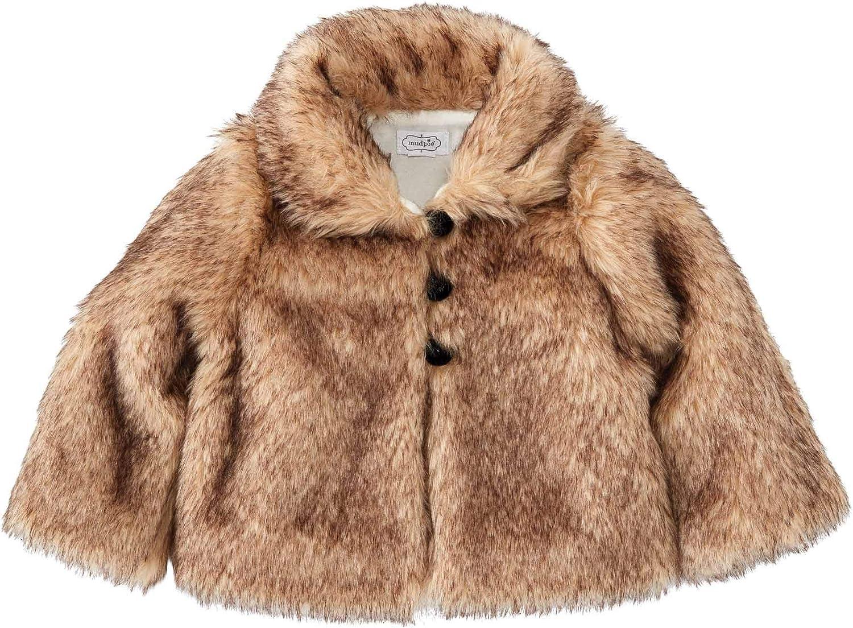Mud Pie Fur Jacket: Clothing