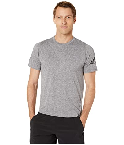 adidas Freelift Heather T-Shirt (Grey Four F17/White) Men