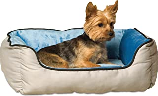 "K&H Pet Products Self-Warming Lounge Sleeper Pet Bed Small Gray/Blue 16"" x 20"""