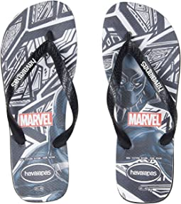Havaianas - Top Marvel Black Panther Flip-Flops