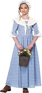 Colonial Village Girl Child Costume