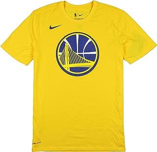 Men's Golden State Warriors Logo T-Shirt XX-Large Yellow Blue