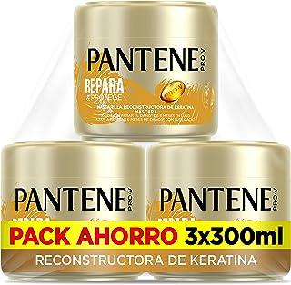 Pantene Pro-V Repara & Protege Mascarilla Capilar de Queratina para pelo dañado y frágil 3 x 300 ml
