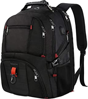 Travel Laptop Backpack,TSA Friendly Approved 17 Inch Large Business Travel Computer Backpack with USB