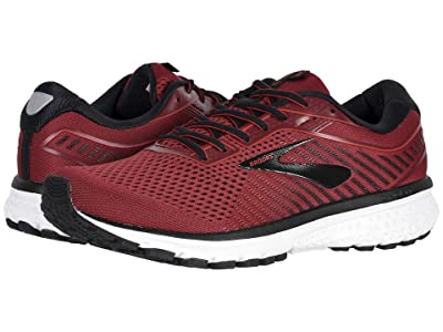 Brooks Ghost 12 (Red/Biking Red/Black) Men