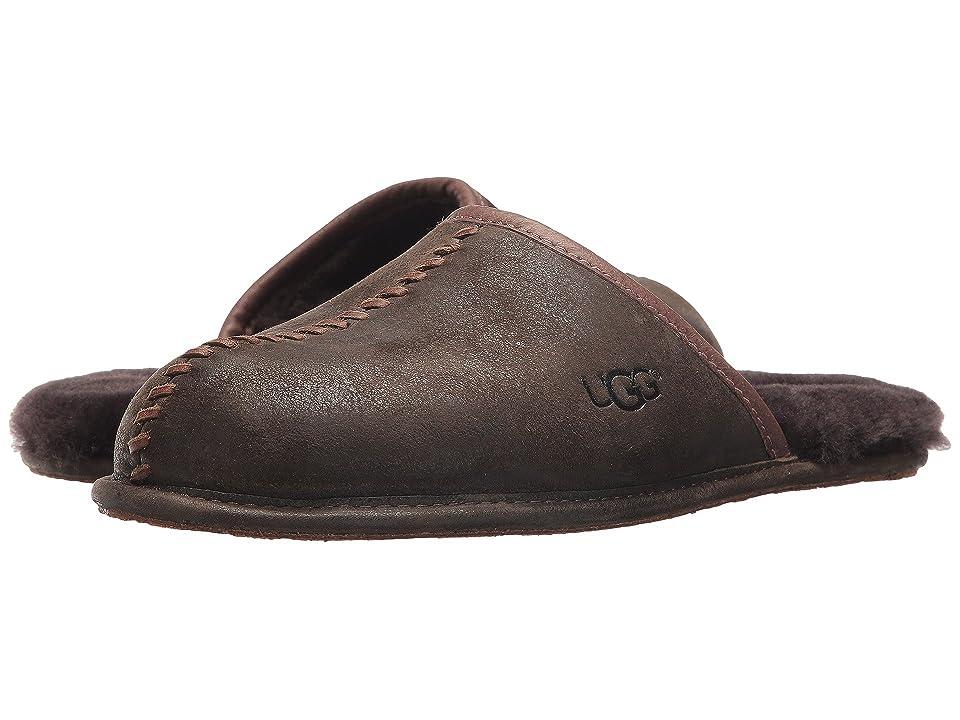 UGG Scuff Deco (Stout Leather) Men