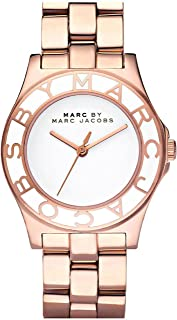 Marc by Marc Jacobs Women's White Dial Stainless Steel Band Watch - MBM3075