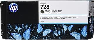 HP 728 300-ml Matte Black DesignJet