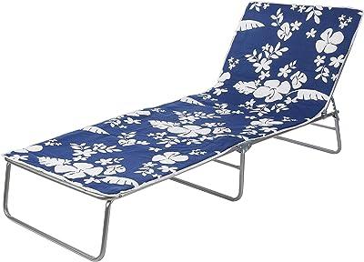 Bica Brandina Oasis - flores blancas sobre fondo azul