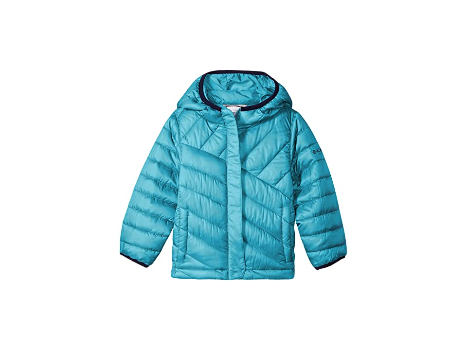Columbia Kids Powder Litetm Puffer (Little Kids/Big Kids) (Pacific Rim/Collegiate Navy) Girl