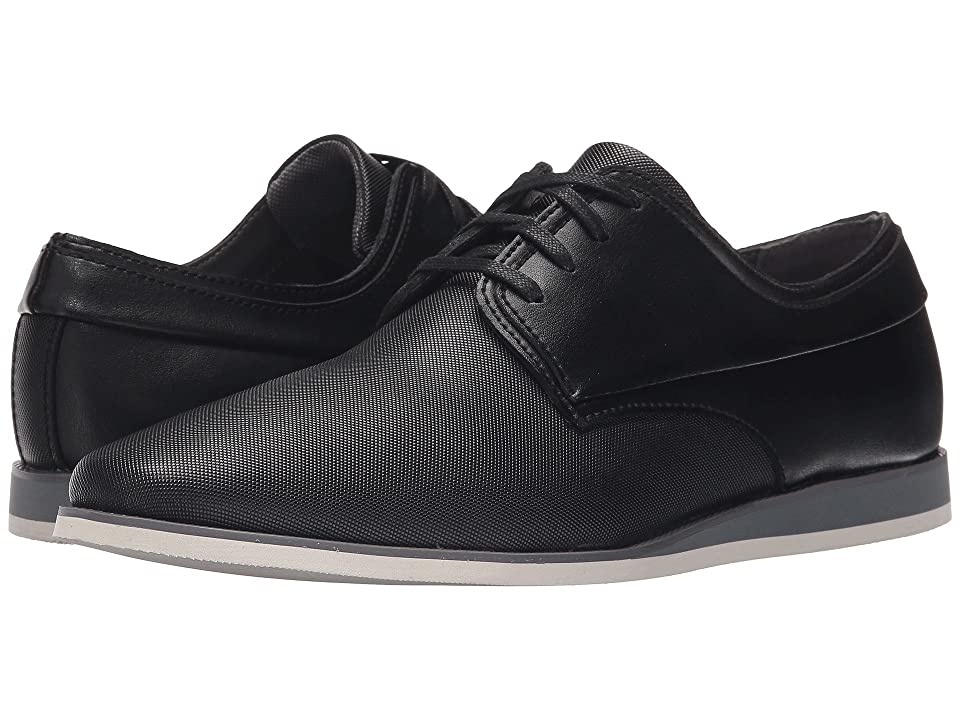 Calvin Klein Kellen (Black Emboss Leather) Men