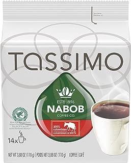 Tassimo Nabob 100% Colombian Coffee 14 T Discs (110g / 3.8oz)