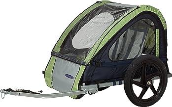 صندلی تک صندلی InStep و دوچرخه سواری دوچرخه سواری در کنار تریلر دوچرخه، شامل دوچرخه سایپا و دوچرخه 16 اینچ، برای کودکان و کودکان، چند رنگ موجود