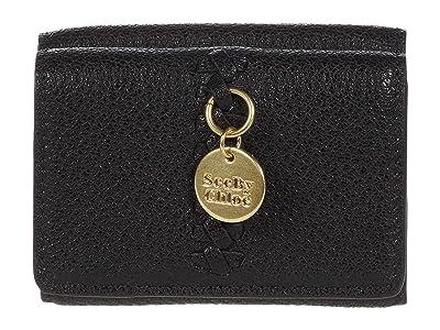 See by Chloe Tilda Coin Purse (Black) Handbags