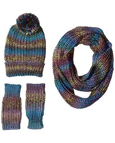 62fc97b7a58b Blue Knit Scarf  Amazon.com