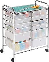 Honey-Can-Do CRT-01683 wózek z 12 szufladami, plastik, przezroczysty, 27,94 x 40,64 x 78,10 cm