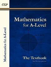 New A-Level Maths Textbook: Year 1 & 2 (CGP A-Level Maths)