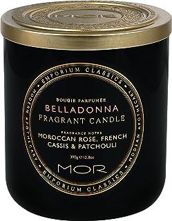 MOR Boutique Emporium Classics Belladonna Fragrant Candle, Belladonna, Scented, 380ml
