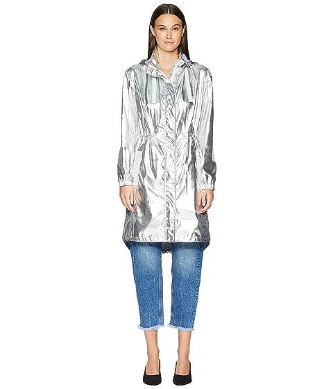 ESCADA My Metallic Hooded Zip-Up Jacket