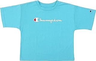 Champion Kids Clothes Girls Original Boxy Script Tee