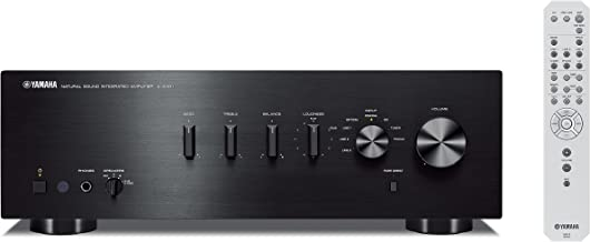 Yamaha AS-301 - Amplificador híbrido, 95W, estéreo, entrada digital, negro