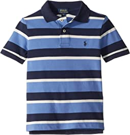 Striped Featherweight Mesh Polo (Toddler)