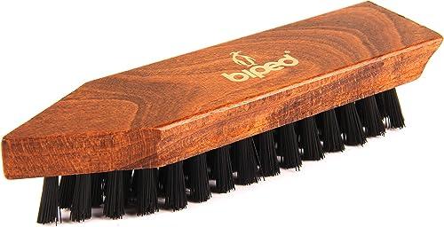biped Décrottoir pour chaussures – Brosse à chaussures en bois 16,5 cm – Brosse à récurer – Classic Edition – z2450
