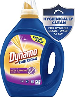 Dynamo Professional with Odour Eliminating Technology, Liquid Laundry Detergent, 3.6 Litres, 72 Washloads