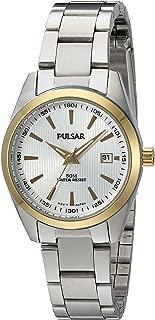 Pulsar Women's PJ2010X Analog Display Japanese Quartz Silver Watch