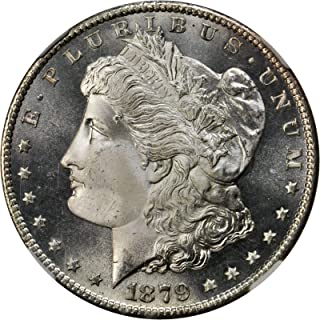 1879 S Morgan Silver Dollar $1 About Unicirculated (Cleaned)