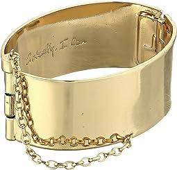 Rebecca Minkoff Handcuff with Chain Bracelet