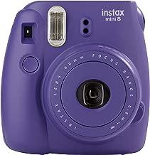 Fujifilm 16443955 Instax Mini 8 Instant Film Camera - Grape