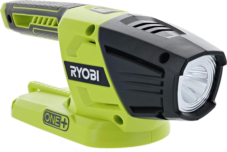 Ryobi Set Max 54% OFF of 2 Max 59% OFF One+ 18V Lithium Ion Lumen LED Ba 130 Flashlight