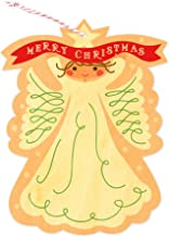 product image for Angel Wood Ornament Holiday Card by Night Owl Paper Goods
