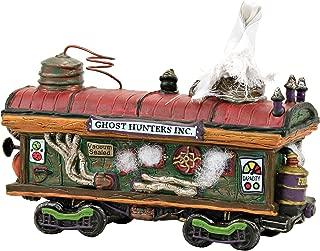 Department 56 Snow Village Halloween Accessories Haunted Rails Scary Ghost Hauler Lit Figurine, 4.41 Inch, Multicolor