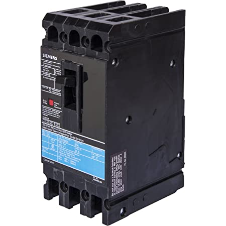 100 Amp Siemens ED43B100 Circuit Breaker Type ED4 3 Pole