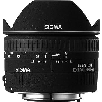 Sigma 15mm f/2.8 EX DG Diagonal Fisheye Lens for Canon SLR Cameras