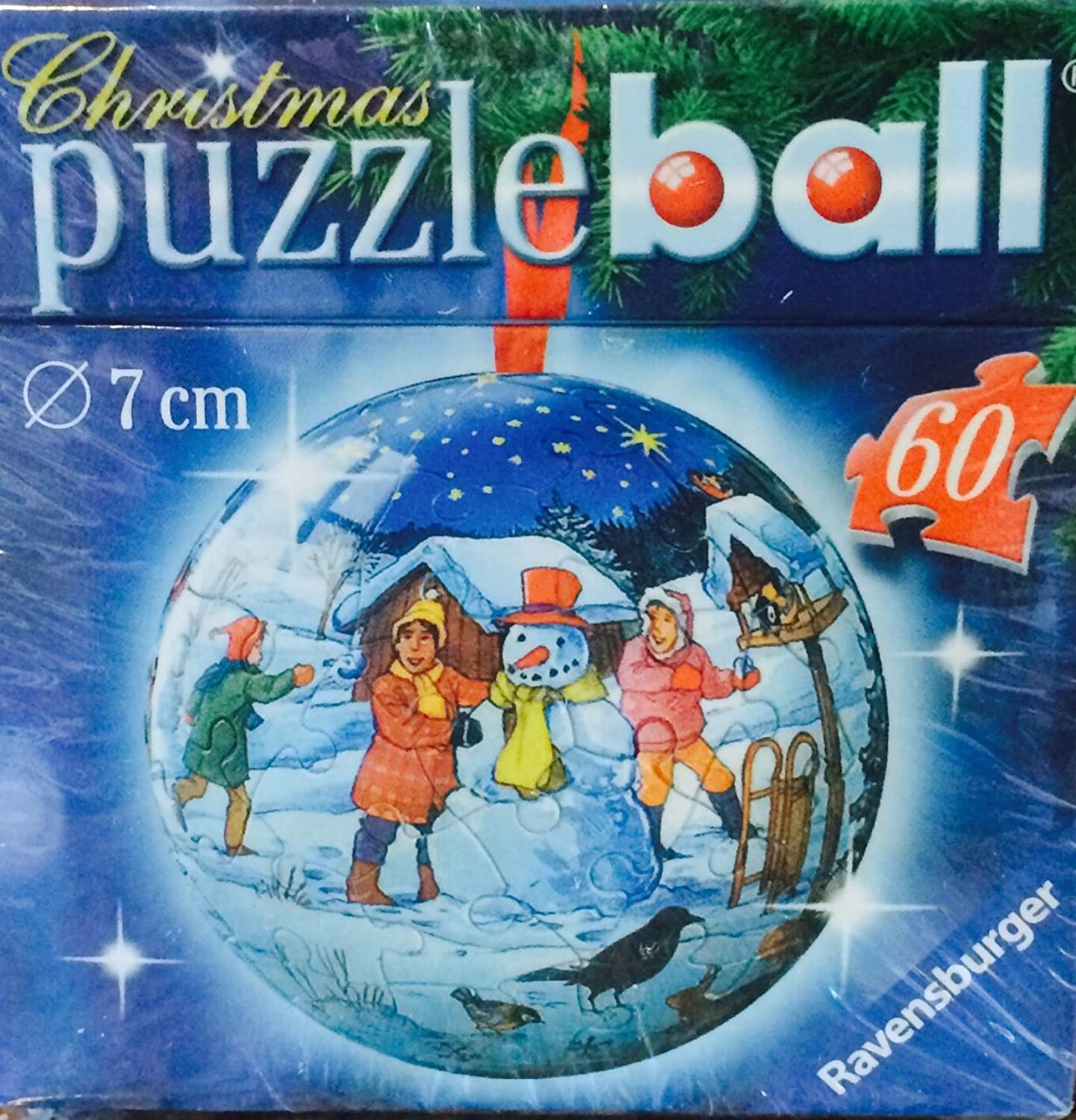 60 Piece 3d Holiday Puzzleball by Ravensburger