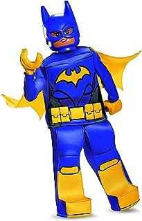 Batgirl LEGO Movie Prestige Costume, Purple, Large (10-12)