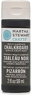 Martha Stewart Crafts 33491 Martha Stewart Multi-Surface Black, 2 oz Chalkboard Paint