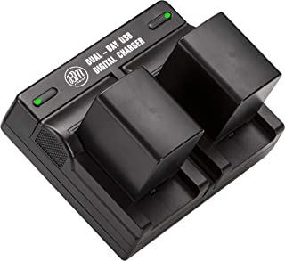 BM 2 BP-820 Batteries and Dual Battery Charger for Canon VIXIA HF G50, HF G60, XA40, XA45, XA50, XA55, GX10, HFG20, HF G21, HFG30, HFG40, HFM301, HFM41, HFM400, XA10 XA11 XA15 XA20 XA25 XF400 XF405