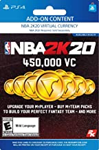 NBA 2K20: 450000 VC Pack - [PS4 Digital Code]