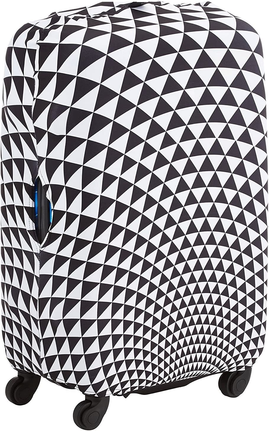 Elastisch Kofferh/ülle Kofferschutzh/ülle Verdickende Blaue Meereswelle Kofferbezug Gep/äck Cover Schutzbezug Luggage Cover Reisekoffer H/ülle f/ür 18-32 Zoll Koffer mit Rei/ßverschluss S 18-21