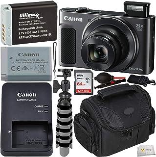 دوربین دیجیتال Canon PowerShot SX620 HS (سیاه) با بسته نرم افزاری استارت