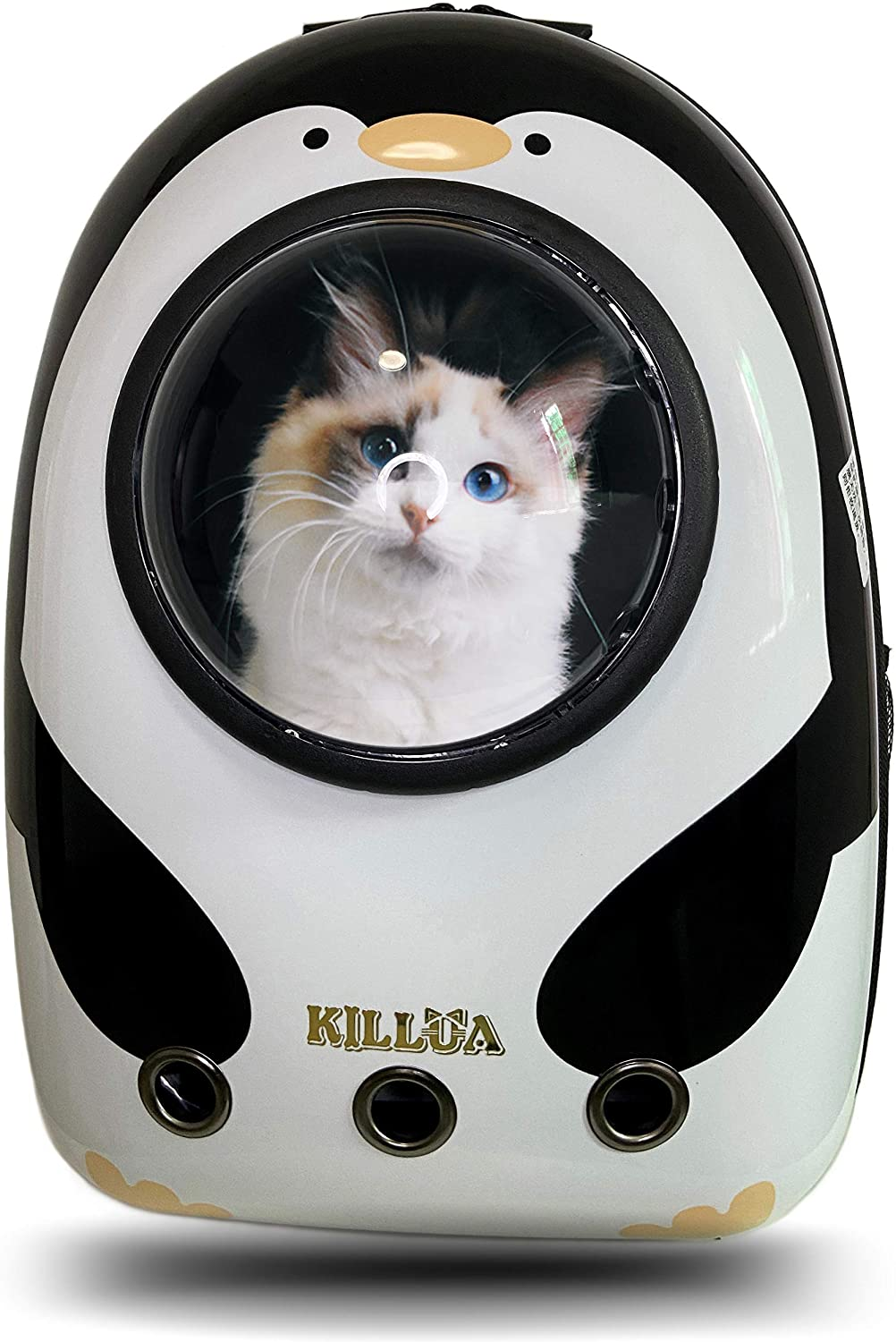 KILLUA Tulsa Mall Now free shipping Backpacks of Pets Pet Travel Space Carrier Waterproof Ca