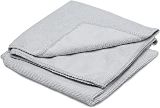 Therapy Stainless Steel Microfiber Cloth (2 Pack) - Great Towel for Cleaning and Polishing All of Your Kitchen Appliances