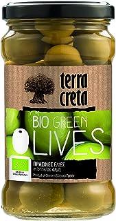 Terra Creta Organic Greek Green Olives, 290g