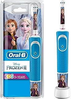 comprar comparacion Oral-B Kids - Cepillo Eléctrico Recargable con Tecnología de Braun, 1 Mango de Frozen de Disney, Apto para Niños Mayores d...