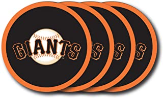 MLB San Francisco Giants Vinyl Coaster Set (Pack of 4)