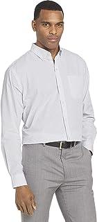 Men's Wrinkle Free Long Sleeve Button Down Shirt